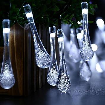 Weihnachtsbeleuchtung Tropfen.Xiuxiandianju Led Schnur Lichter Eiszapfen Wasser Tropfen Schnur