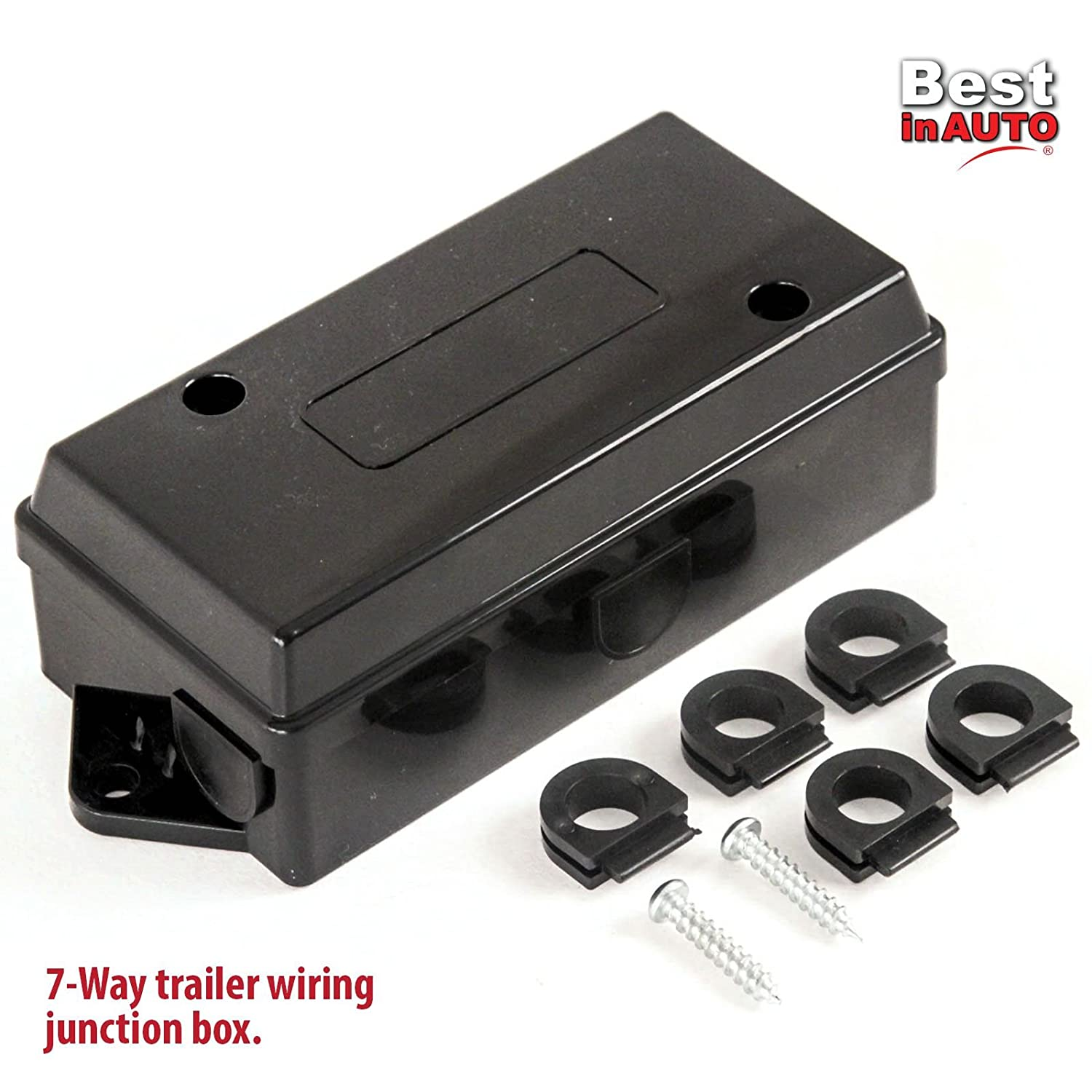 Best In Auto 2 Trailer Wiring Junction Box For 7 Way A Wire Connectors Automotive