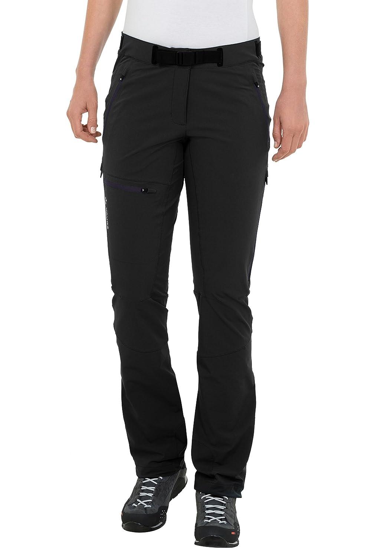Noir (noir) 42 (Court) VAUDE Badile Pantalon pour Femme II Longue Taille