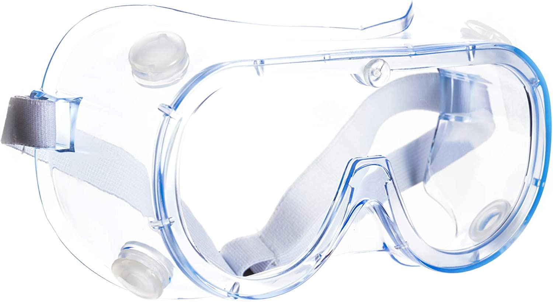 Schutzbrille Arbeitsschutzbrille Antibeschlag Antispeichel Augenschutzbrille Vollsichtbrille Transparent ViTho 1 St/ück