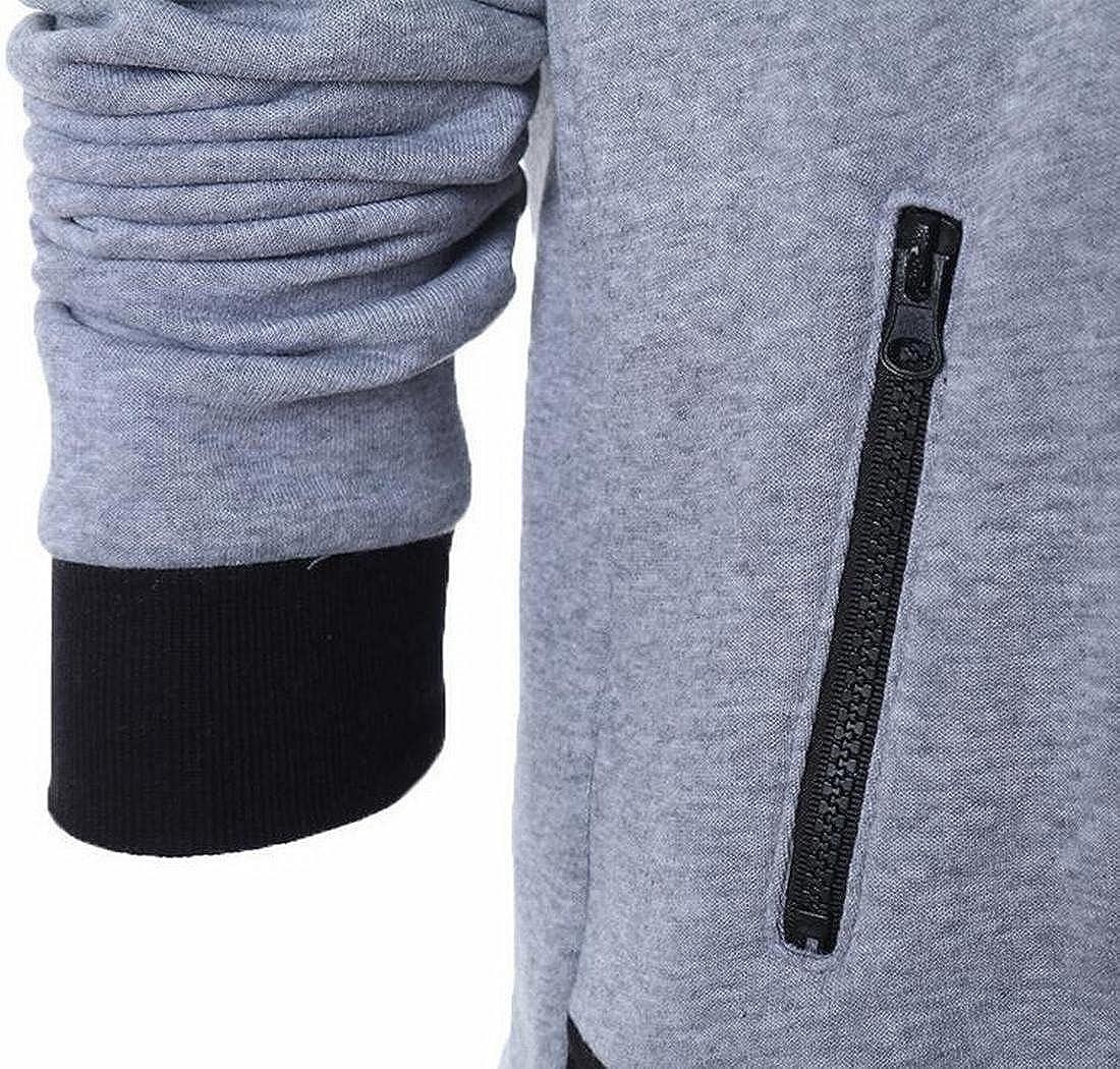 ZAWAPEMIA Womens Basic Style Full Zip Hooded Sweatshirts