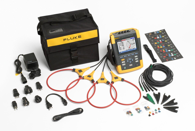 amazon com fluke 435 series ii three phase power quality and energy rh amazon com fluke 345 manual fluke 435 user manual