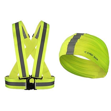 Chaleco de seguridad de alta visibilidad reflectante Gear ...
