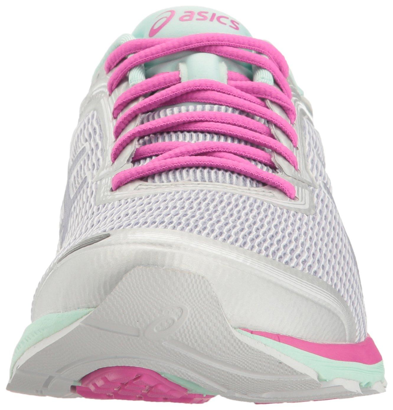 ASICS Women's Dynaflyte B(M) Running Shoe B01GSTJ28M 9 B(M) Dynaflyte US|White/Pink Glow/Silver 0e58c4