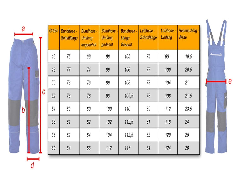 TMG Arbeitshose Bundhose Canvas 320g//m/²
