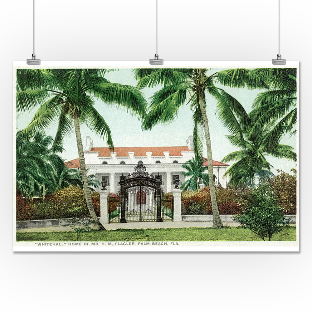 Amazon com: Palm Beach, Florida - Flagler House, Whitehall Exterior