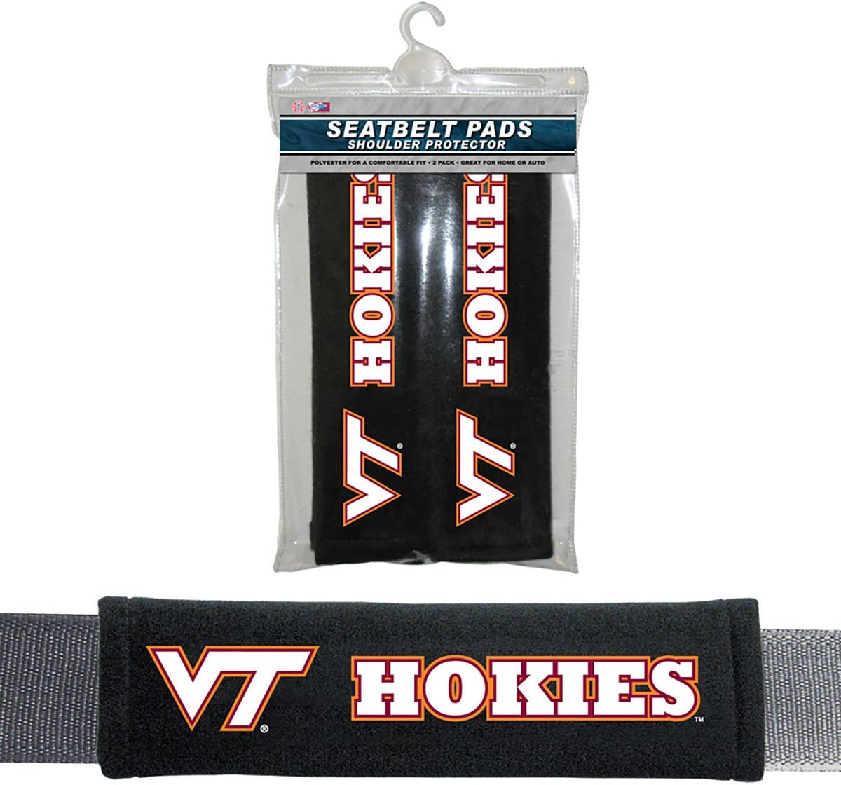 Multi One Size Fremont Die NCAA Virginia Tech Hokies Velour Seat Belt