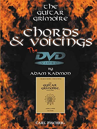 Amazon.com: Adam Kadmon: The Guitar Grimoire - Chords and Voicings ...