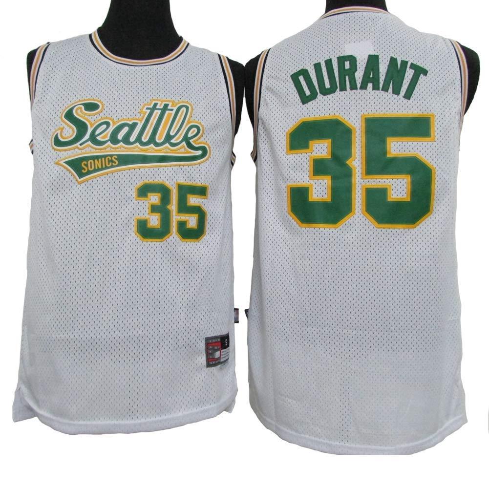 LLYLL Camiseta de Baloncesto para Hombre Kevin Durant # 23 ...