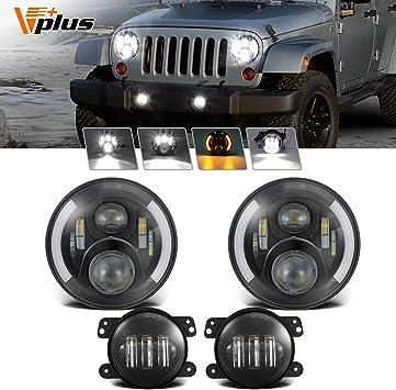 9006 Fog Lights for Dodge Ram 1500 2500 3500 2002-2005 CREE 9007 LED Headlight