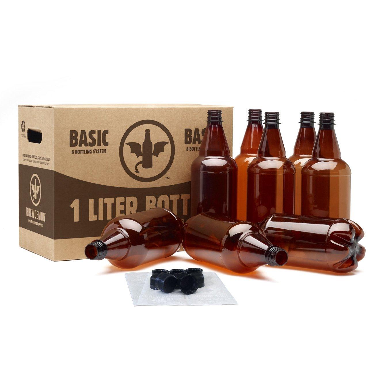 BrewDemon Basic 8 Bottling System (1-Liter) 55120