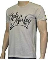 Billabong Bob Marley Scripted T-Shirt Natural