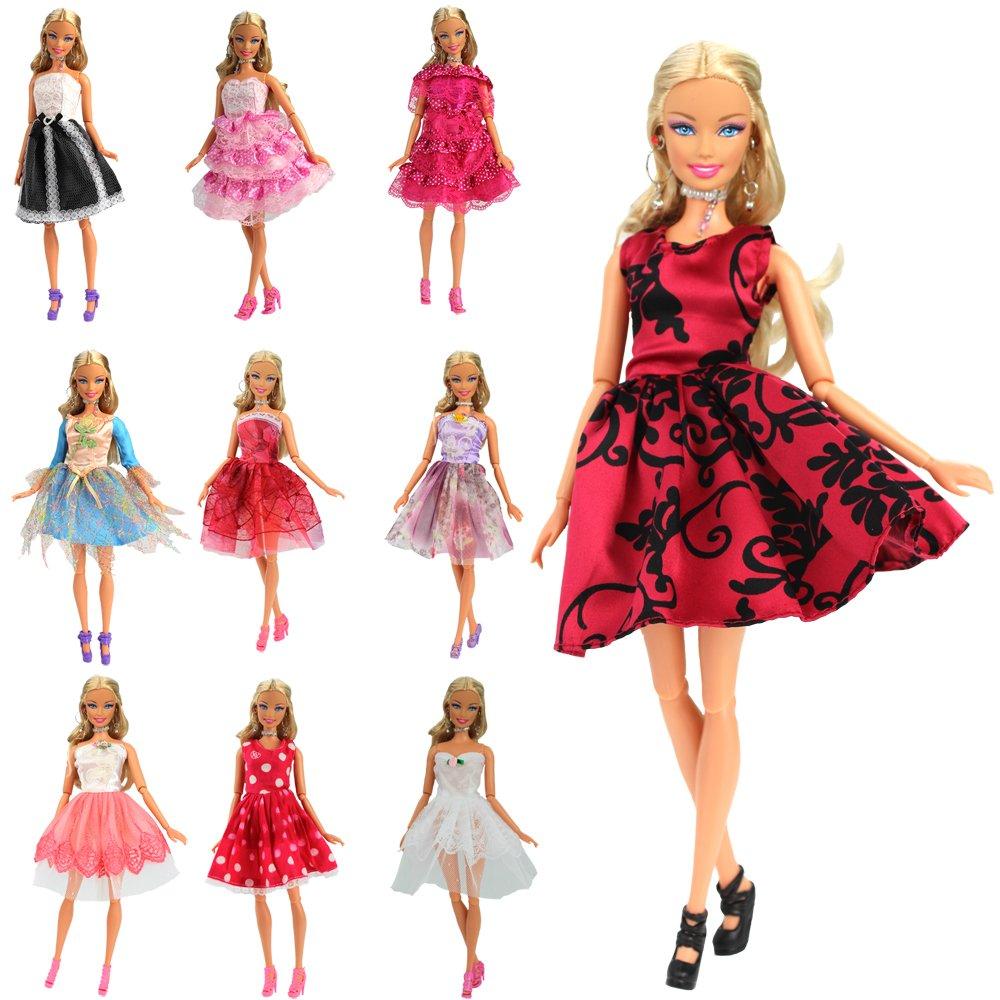 vestidos de fiesta cortos para barbie
