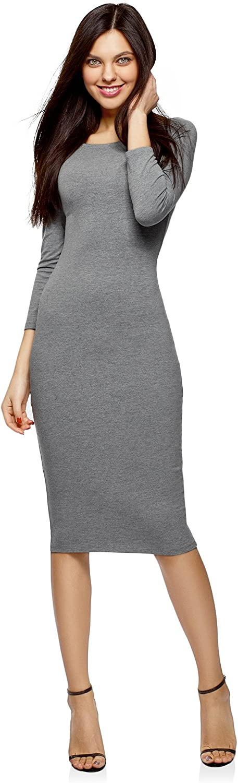 oodji Ultra Mujer Vestido con Escote Barco (Pack de 2): Amazon.es ...