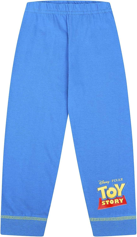 The PyjamaFactory by Disney Toy Story Buzz and Woody Long Green Pyjamas