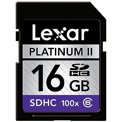 Lexar Platinum II SDHC - Tarjeta de Memoria (16 GB, Secure ...