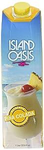 Island Oasis SB3X Premium Pina Colada Drink Mix Bottle, 1 L