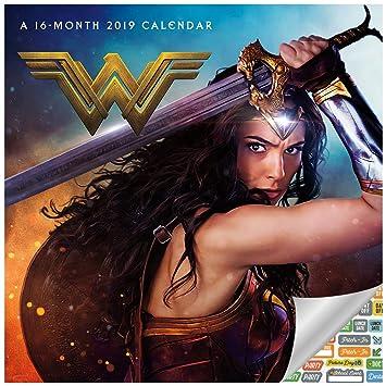 Amazon.com: Wonder 2019 - Calendario de pared para mujer con ...