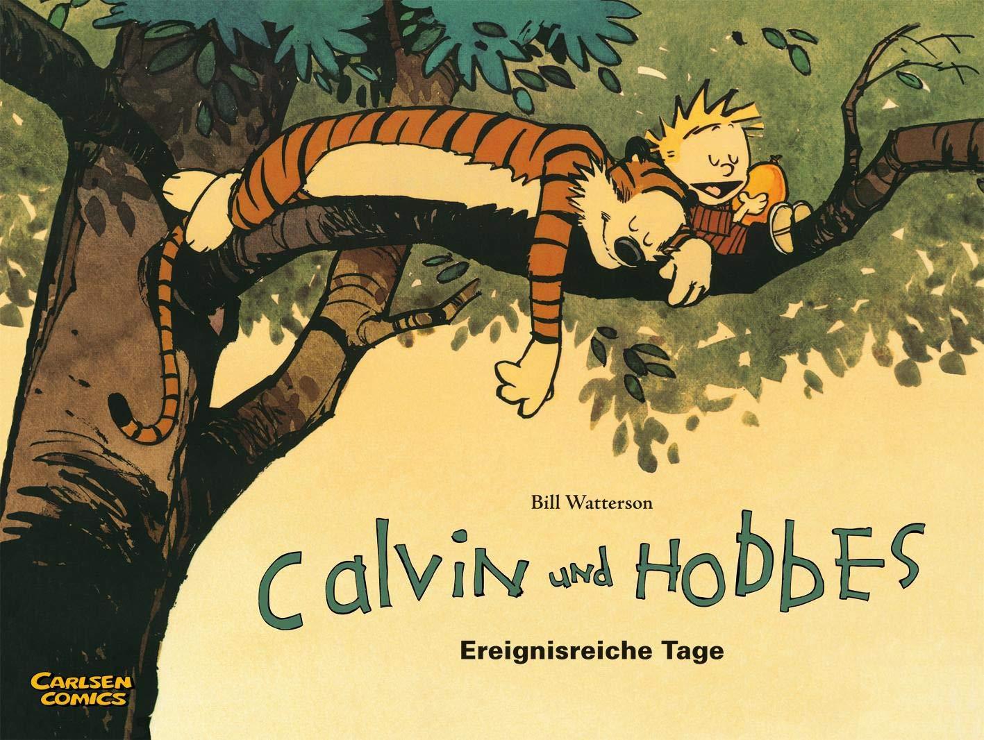 Calvin Und Hobbes 8  Ereignisreiche Tage  8
