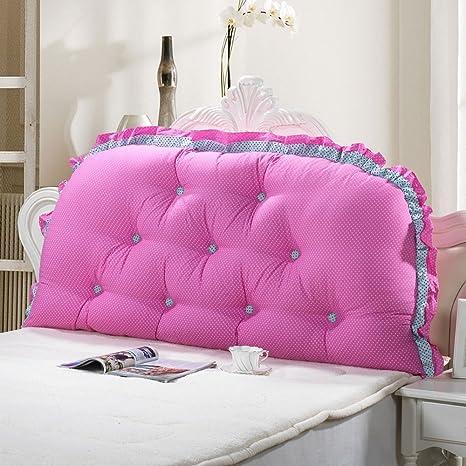Cojines de cabecera, sofá de algodón con Respaldo Grande ...