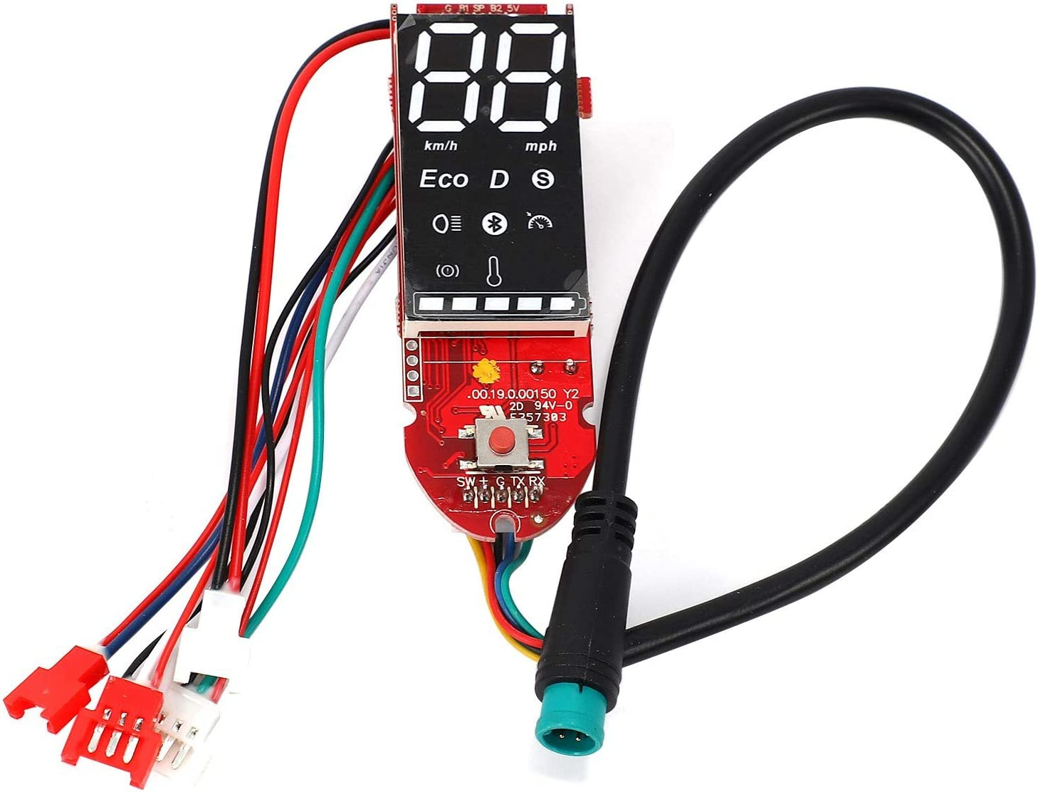 Haudang Scooter Controller Board Motherboard 350W 36V for M365 M365 Pro Control Brakes and Displays