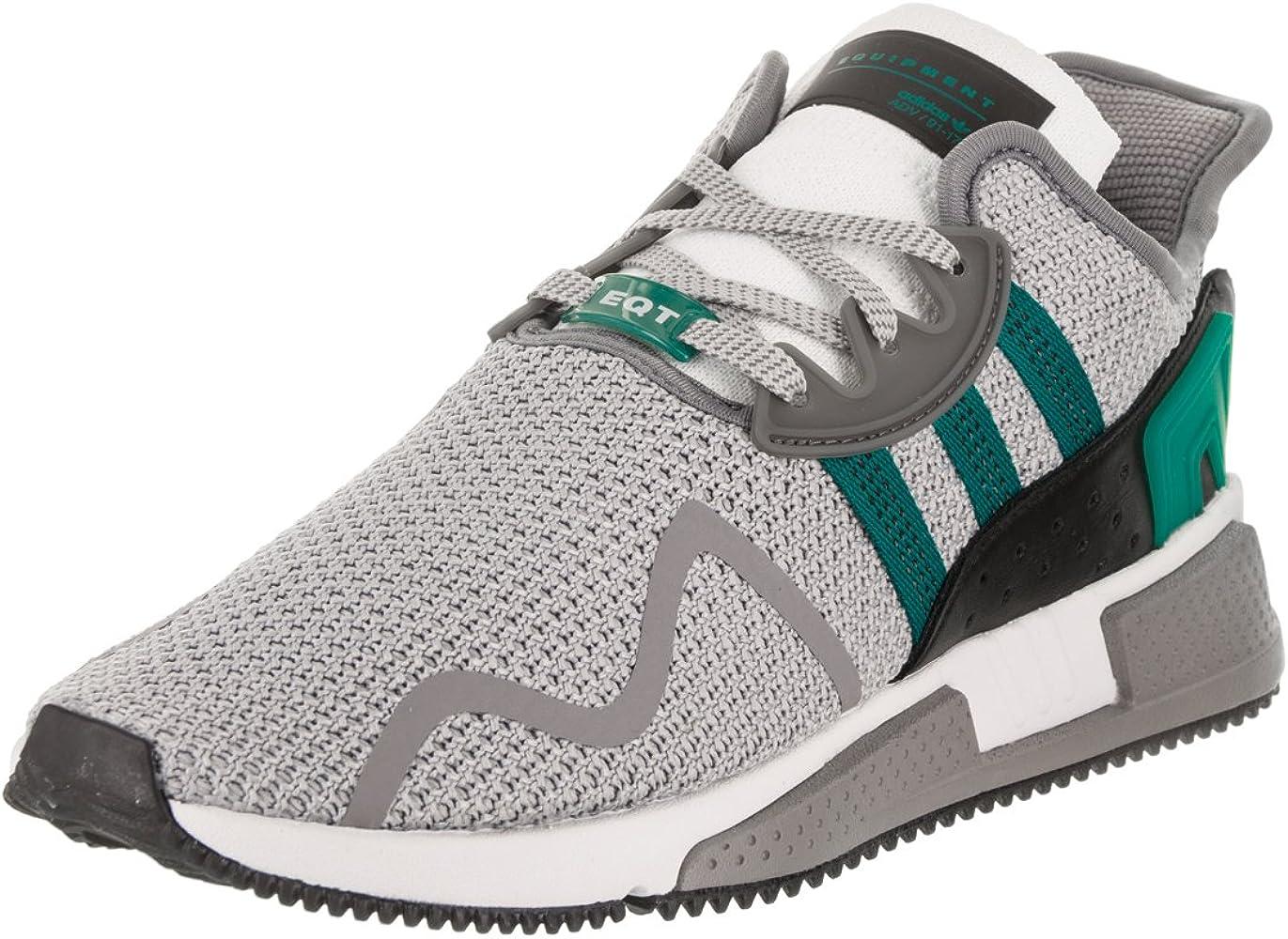 Adidas Originals Men's EQT ADV Grey White Green Basketball Shoes Size 11.5 D