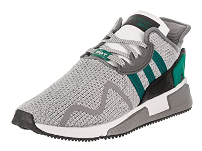 adidas Originals Men's EQT Cushion ADV GreyGreenWhite 9.5 D US