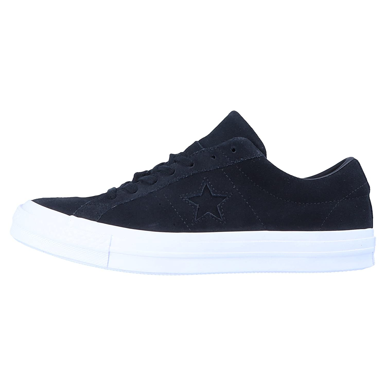5cfdc6688521 Converse ONE Star Suede - OX Unisex Sneakers Black