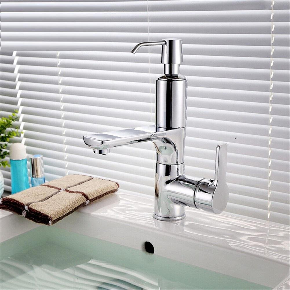 durable modeling GAOF Bathroom faucet with soap dispenser chorme ...