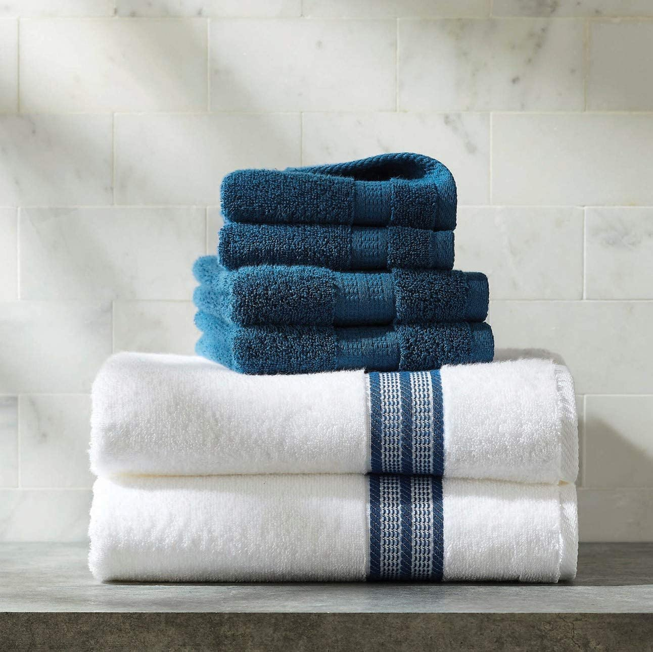 Better Homes and Gardens Thick and Plush Bath Towel Collection by BH