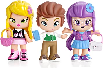 Amazon.es: PINY Pinypon by Pack de 3 figuras, Julia, Lilith y Will ...