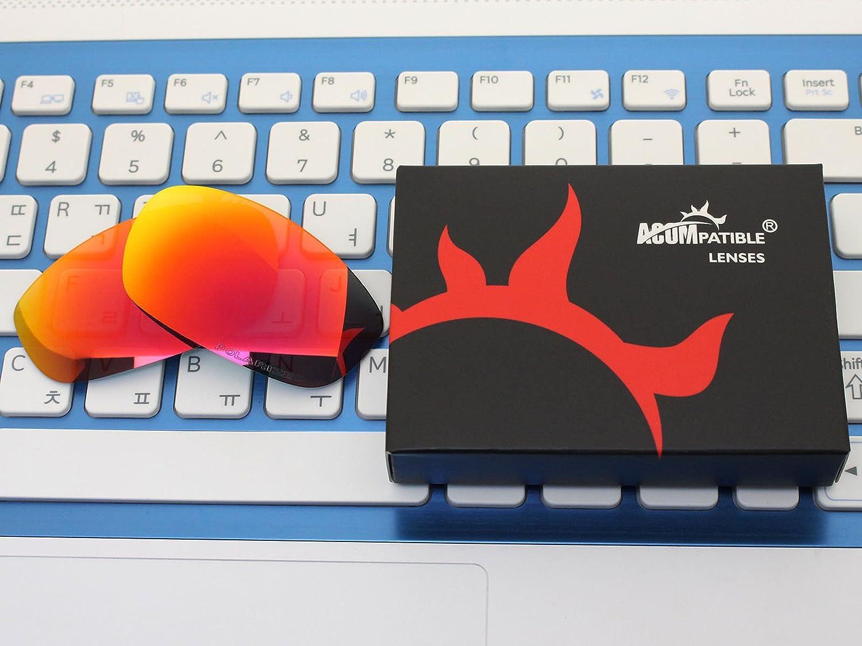 Acompatible de remplacement de lentilles pour lunettes de soleil Oakley blender Oo4059, Ice Blue Mirror - Polarized