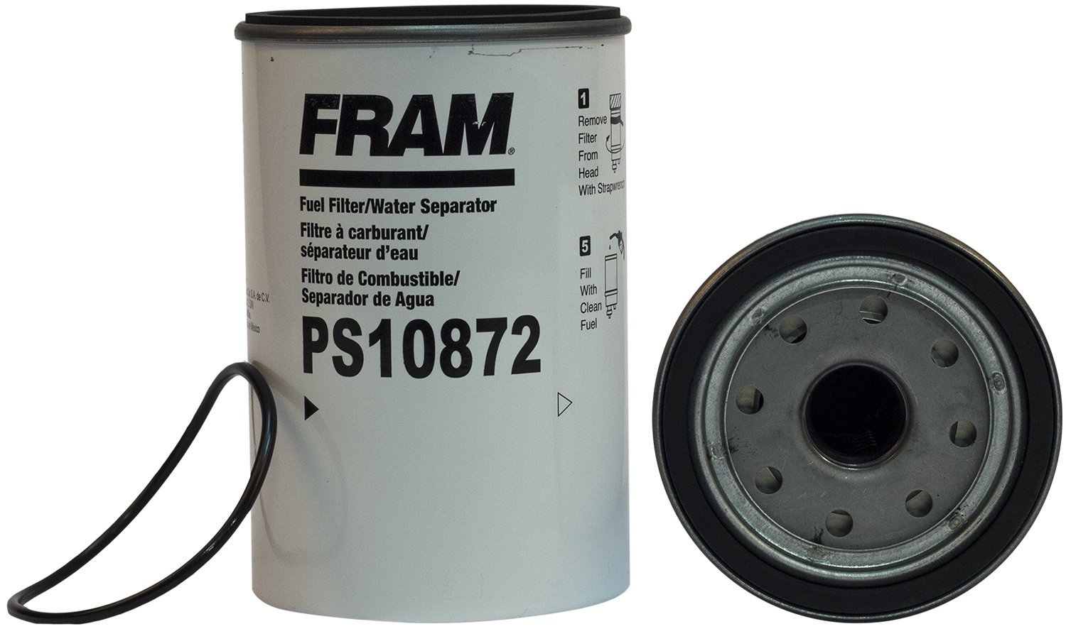 FRAM PS10872 HD Spin-On Fuel/Water Separator Filter