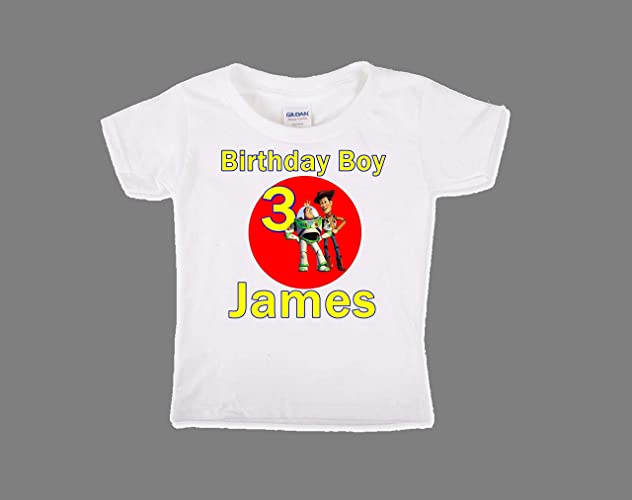 4bef7300821a9 Amazon.com: Toy Story Birthday Shirt, Toy Story Birthday Shirt For ...