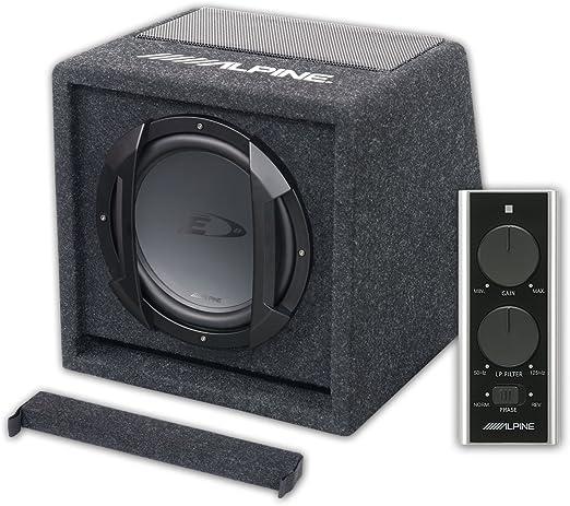 Alpine SWE-815 - Sistema de sonido para coche, color negro