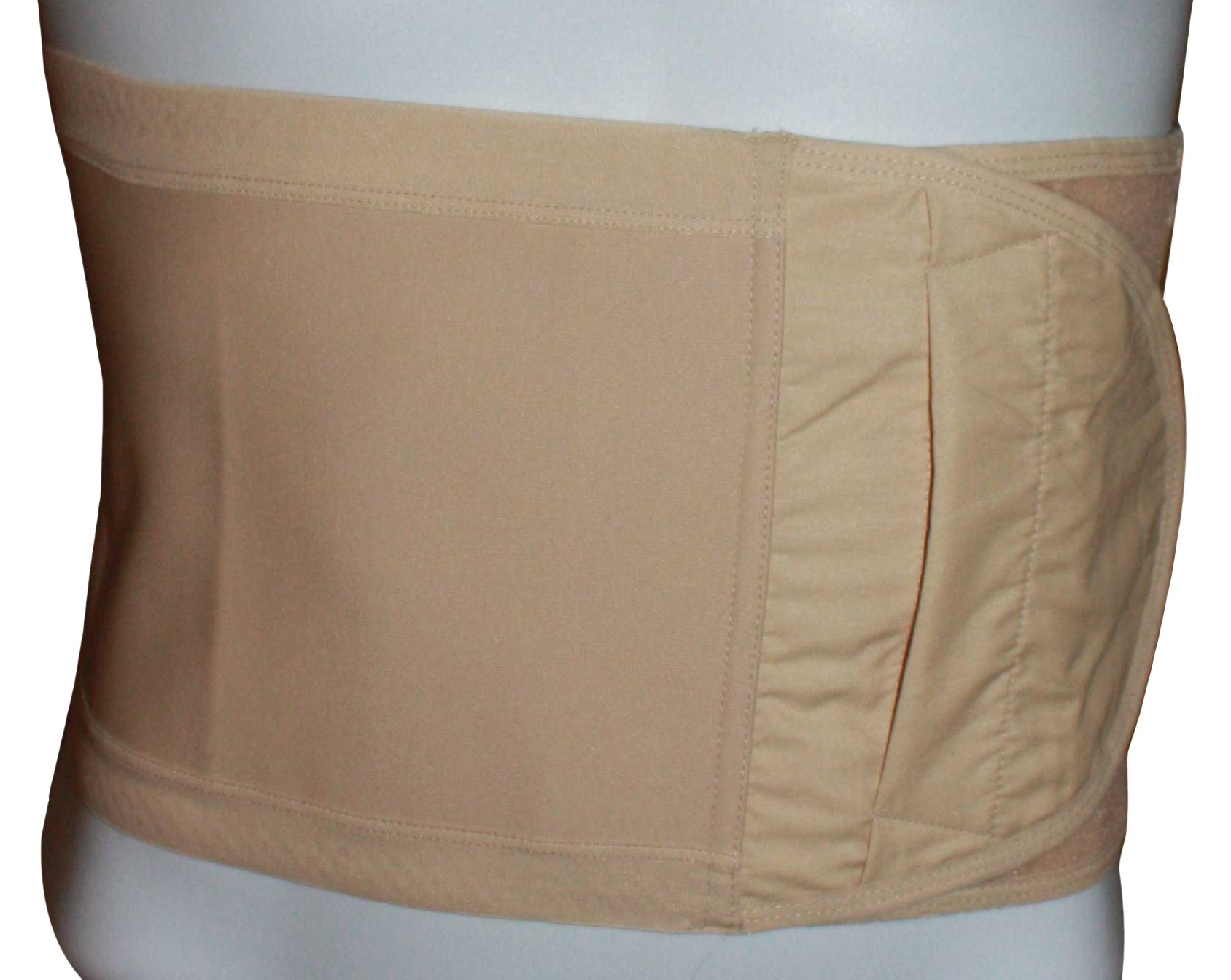 Safe n' Simple Hernia Support Belt, 20cm, Beige, X-Small by Safe n' Simple