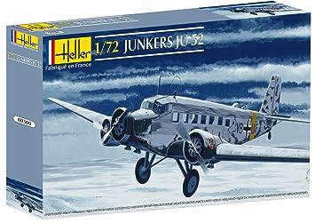 Glow2B Heller - 80380 - Maqueta para Construir - Junker Ju 52 - 1/72