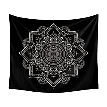 WandArtunique Tapiz de Pared Lona Tela Fondo Toalla Playa Mandala Mandala Multi-función Manta de Pared Colgante, 90x75: Amazon.es: Hogar