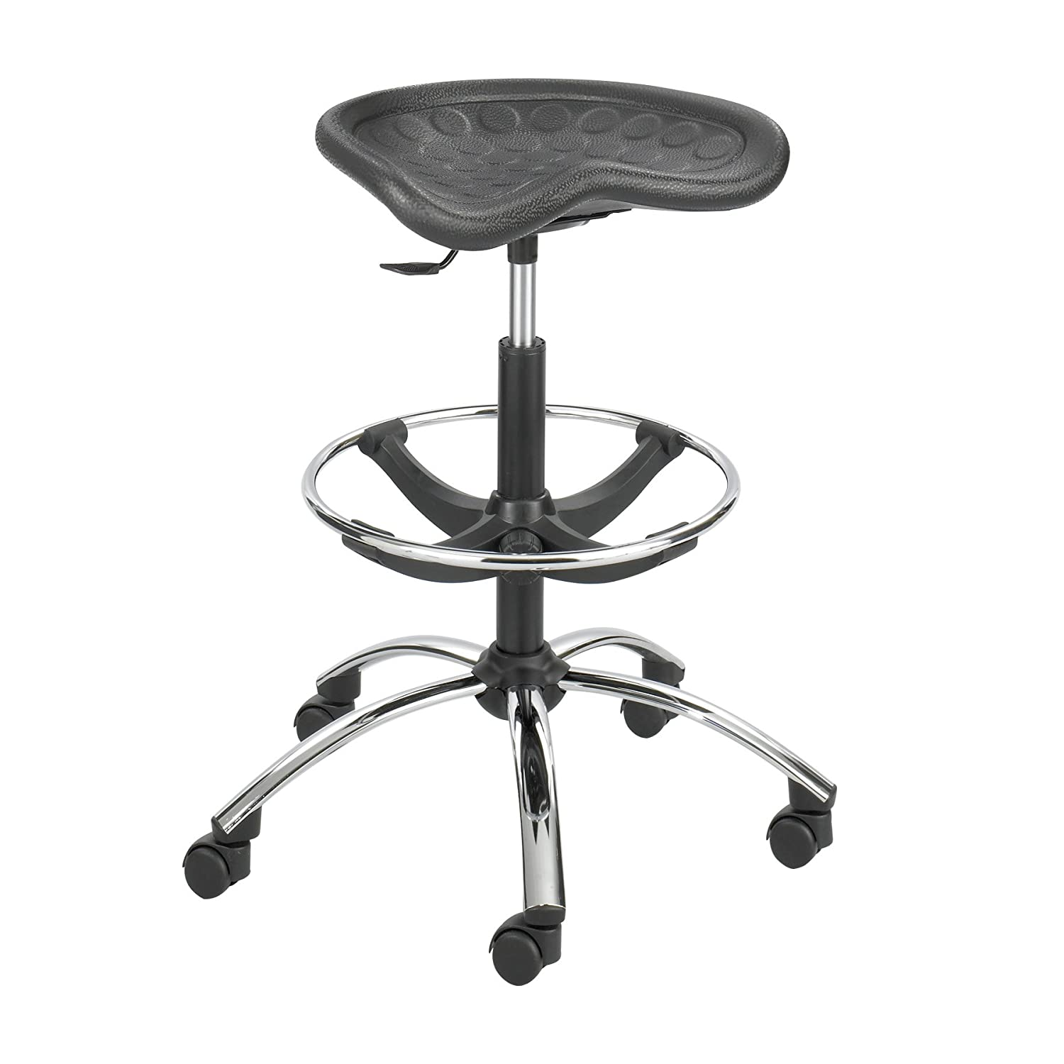 Amazon Safco Products 6660BL SitStar Stool Chrome Base for
