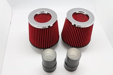 B-Turbo N54DCP - Doble cono de filtro de aire de admisió