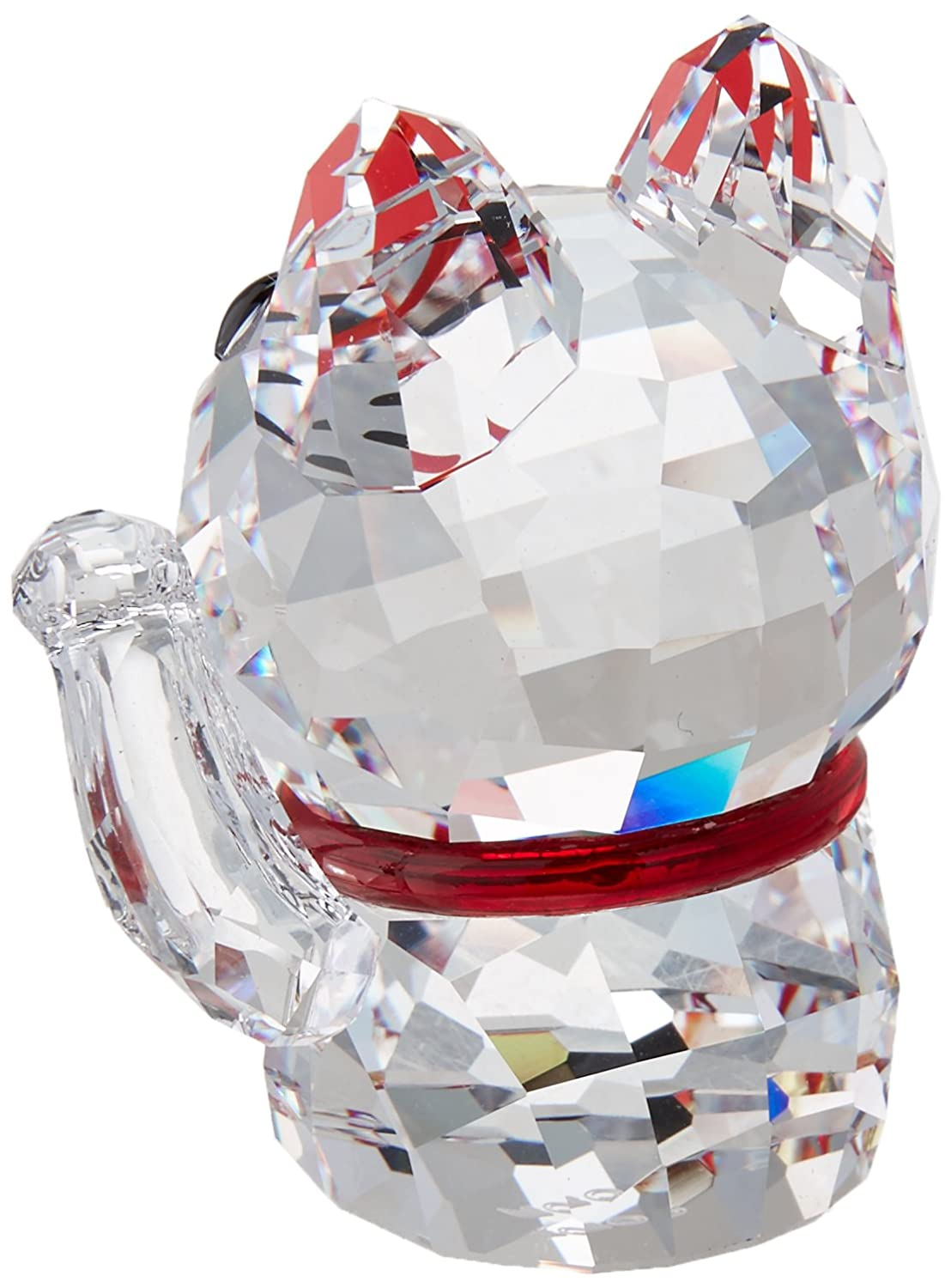 Swarovski Crystal Lucky Cat Figurine New 2018