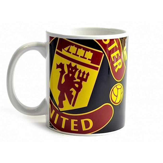 Amazon.com: Manchester United FC Halftone - Taza en caja de ...
