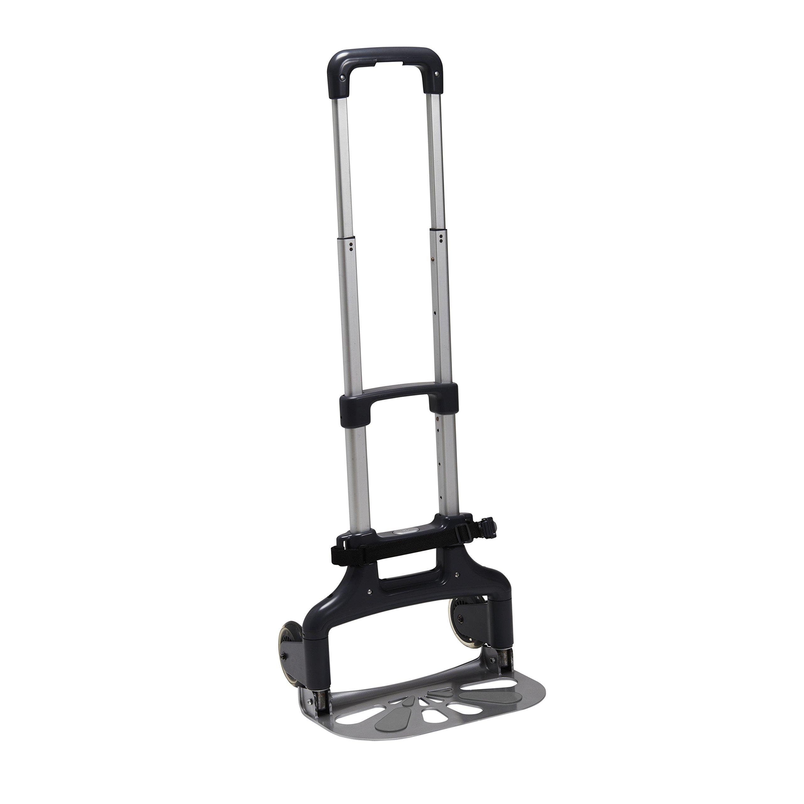 Brica Smart Move Car Seat Travel Cart, Airport Transporter, Grey