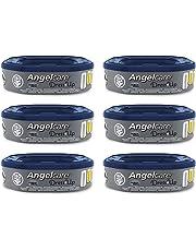 Angelcare - Dress Up - Recharges Octogonales pour Poubelle à Couche Dress up - Anti Odeurs et Grande Capacité - Quantité au choix