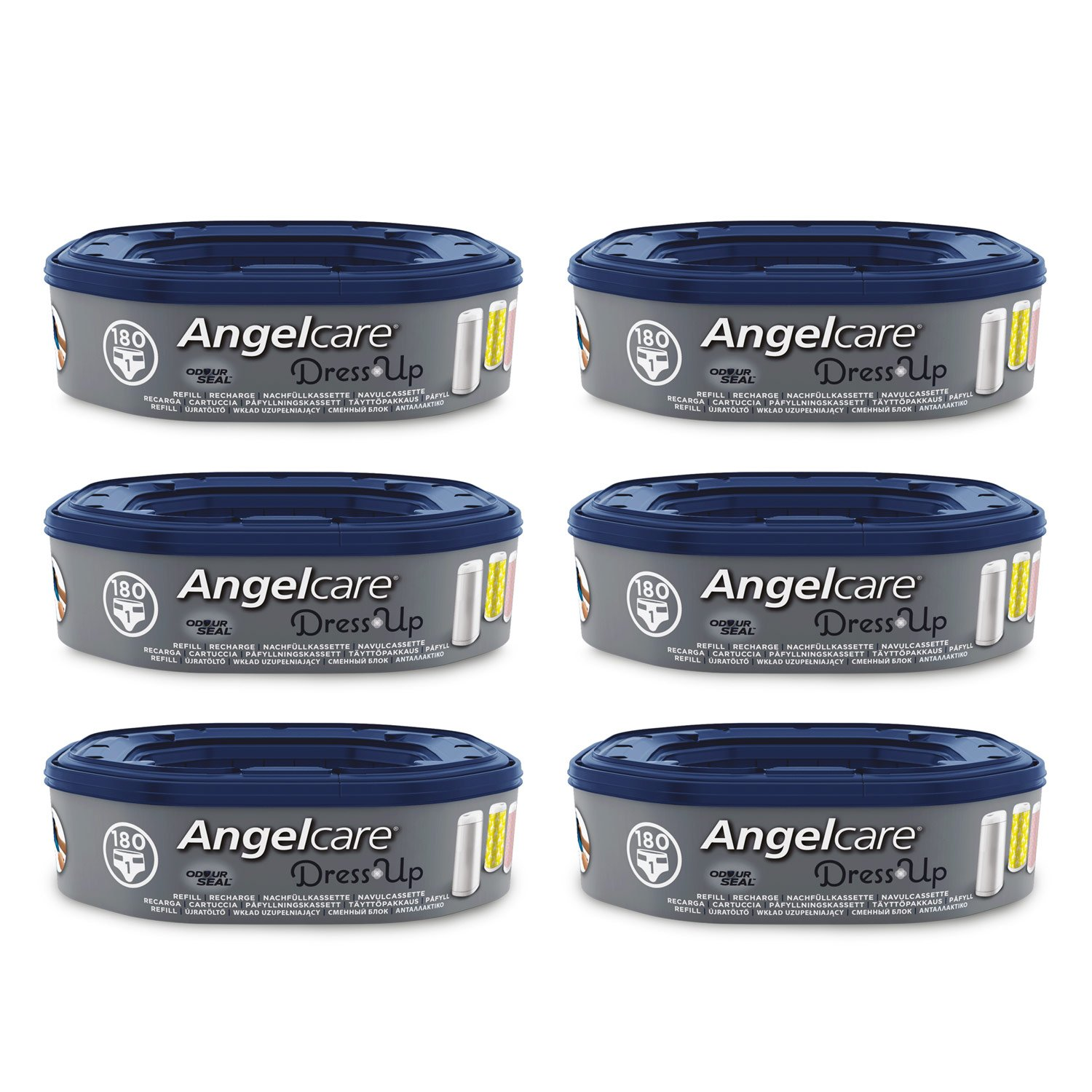 Angelcare Dress Up 6 Recharges Octogonale pour Bac product image