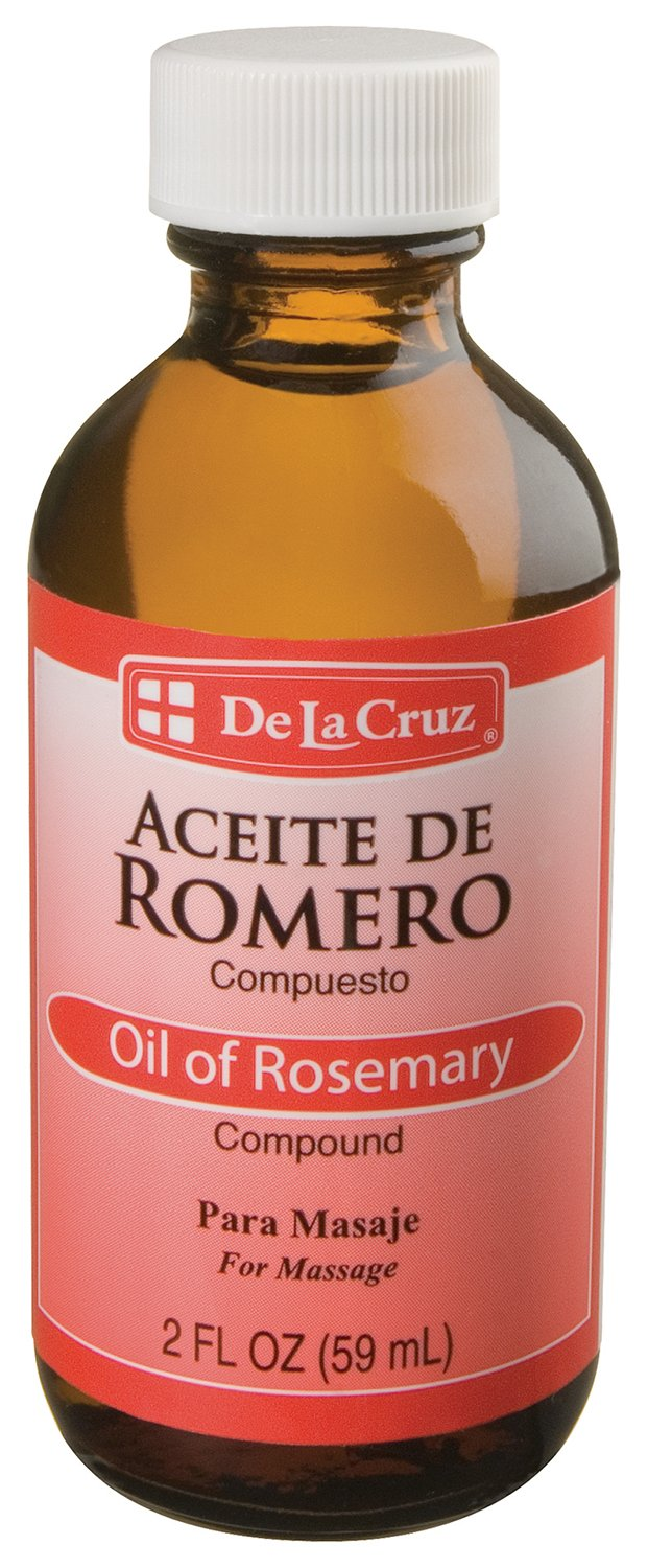 De La Cruz Aceite De Romero Rosemary Oil, 2 Ounce