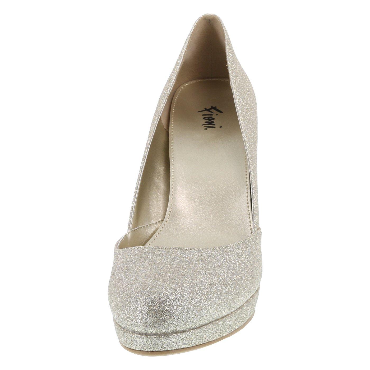 Fioni Gold Women's Jive Platform Heel 7.5 Regular by Fioni (Image #4)