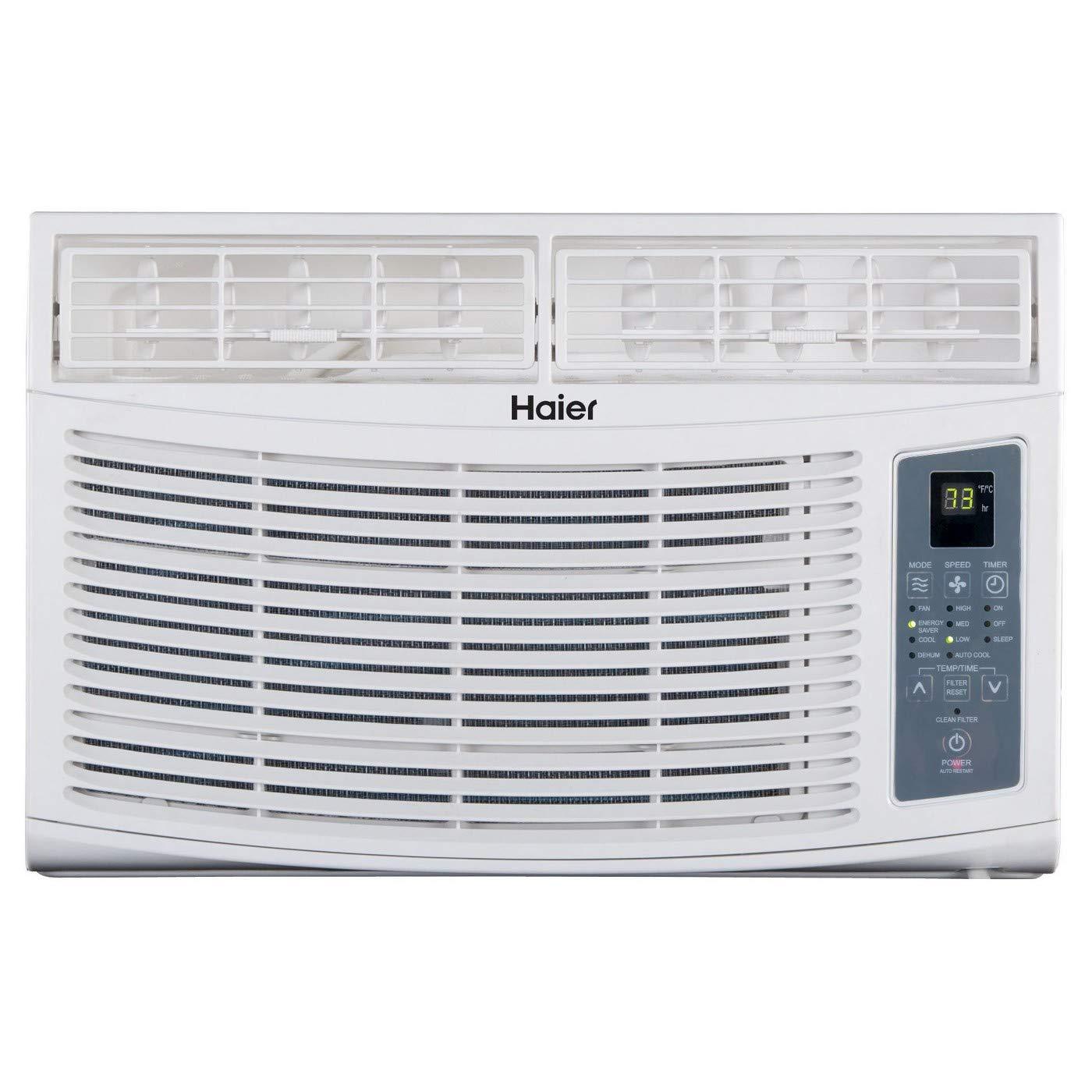 Haier 6k air conditioner - model #: HWR06XCR-T