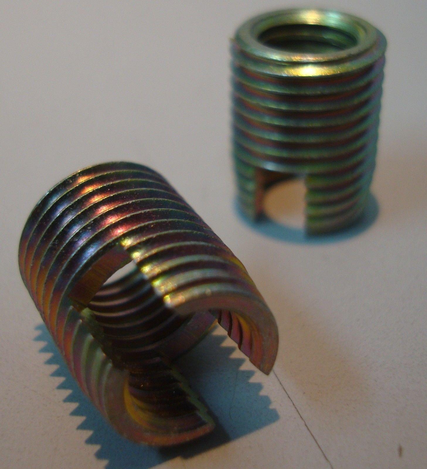 New Damaged Thread Repair Steel Insert - NC 1/4''-20 - 10 pcs Set