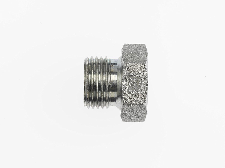 Brennan Industries 9522-P-02 Steel He x Plug 1//8-28 Male BSPP